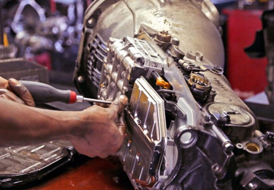 Symptoms of a problem automatic gearbox